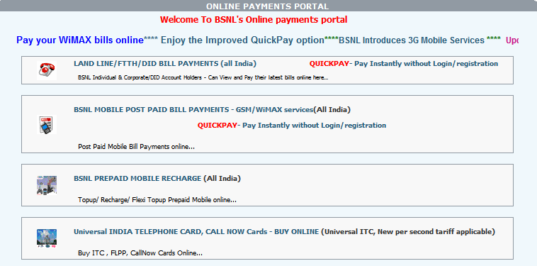 Portal Bsnl Aspx Files Bill Enquiry