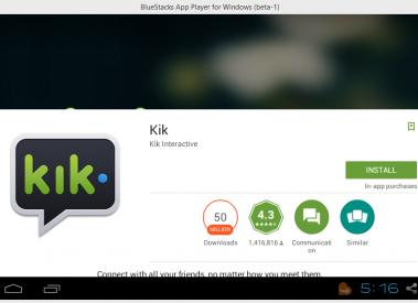 Download kik messenger for PC [windows xp/7/8/10]