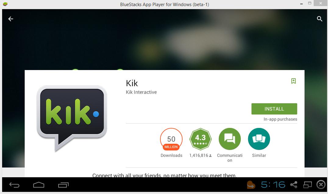 kik messanger free download for pc