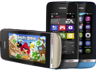 Download Angry birds for nokia asha 300,305,306,308,309,310,311,5233
