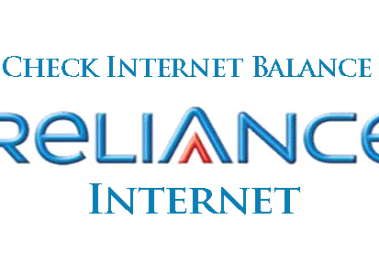 How to Check Internet Balance in Reliance 2G-3G GSM\CDMA