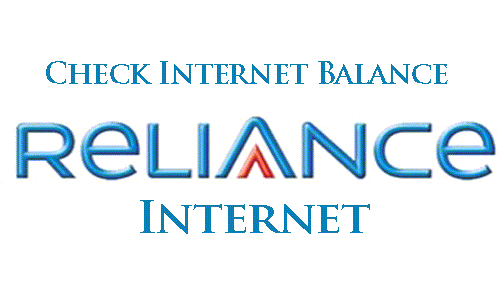 How to Check Internet Balance in Reliance