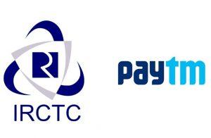 pAYTM ON IRCTC