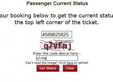 Check IRCTC PNR Status online and Get Train PNR Status by SMS