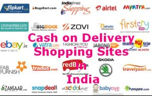 Top Online Shopping Sites in India with Cash on Delivery
