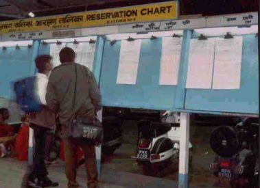 Train Chart Preparation time for Indian Railways Irctc
