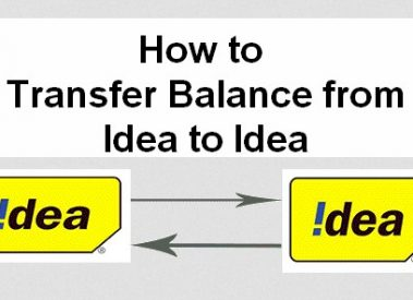 How to Transfer Balance in Idea to Idea Mobile