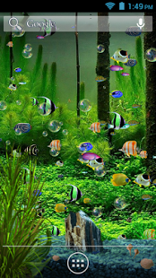 Best live wallpapers for android mobile free download aquarium live wallpapers voltagebd Image collections