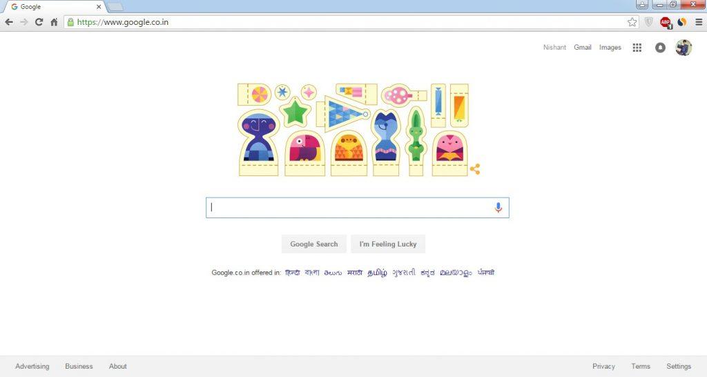 Go to Google Chrome