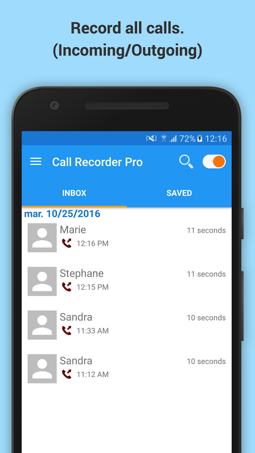 nest top call record app