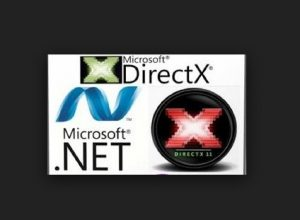 Update your DirectX and .NET Framework