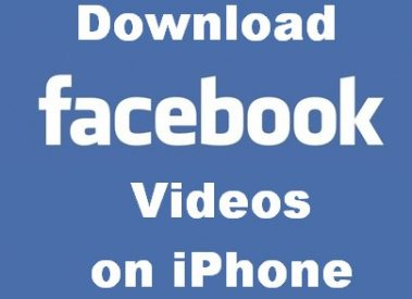 How to Download Videos from Facebook to iPhone [Simple Trick]