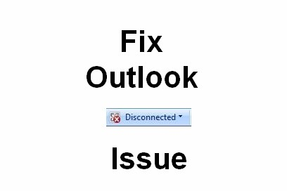 outlook disconnected