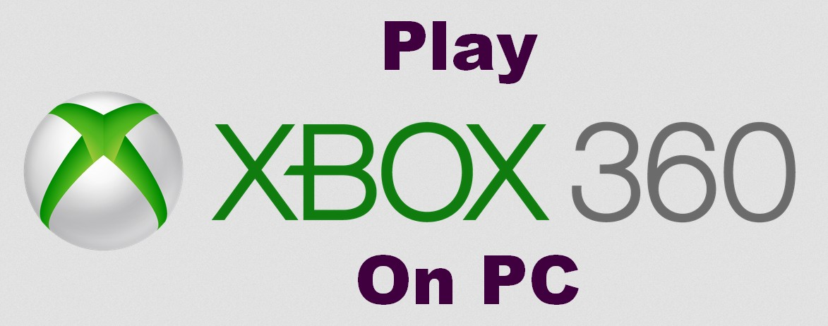 play xbox 360 games on pc