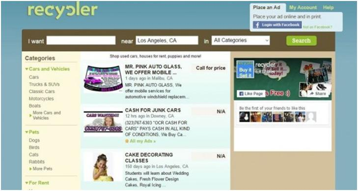 Top 10 best sites like craigslist for What s similar to craigslist