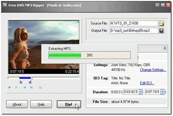 Avidemux Free DVD MP3 ripper