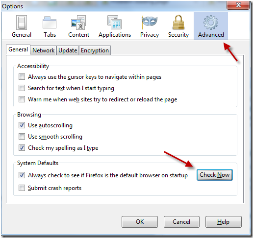 How to Make Firefox as Default Browser