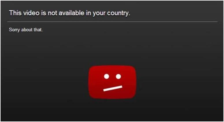 This video is not available in your country YouTube