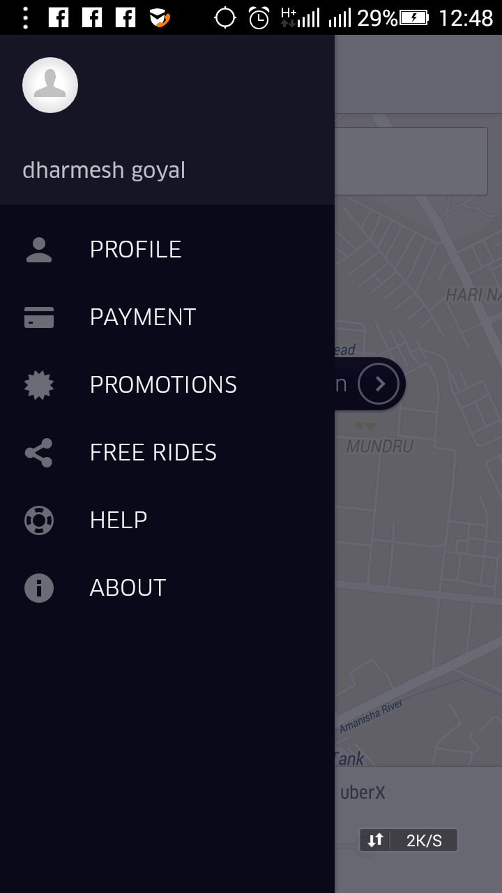 Uber coupon code new user
