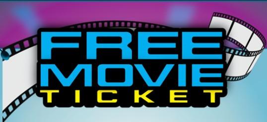 get free movie tickets