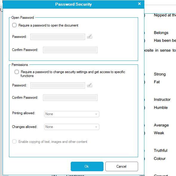protect pdf file