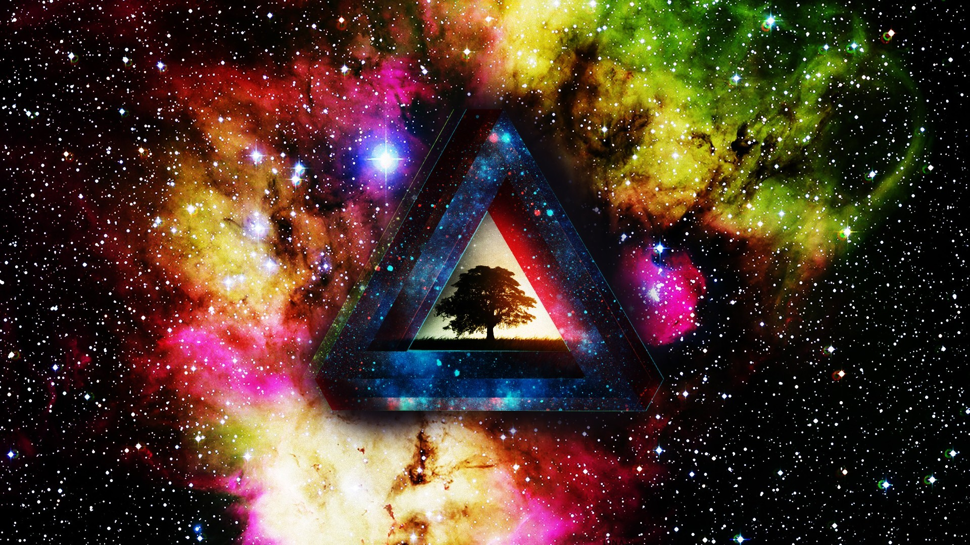 50 Trippy Background Wallpaper Psychedelic Wallpaper