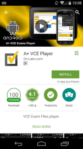 download A+ VCE player