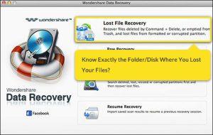 Wondershare data decovery