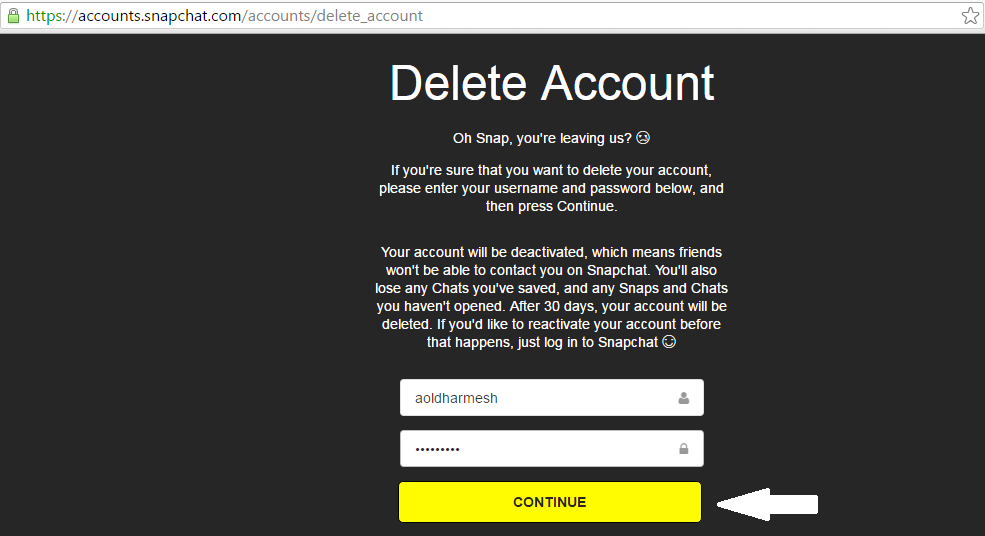 How to delete Snapchat Account, History, Story and Friends