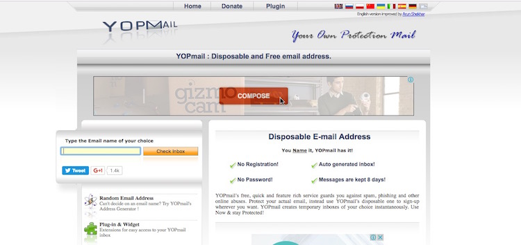 Top 10 Best Fake Email Generator Sites and Temporary Email Services