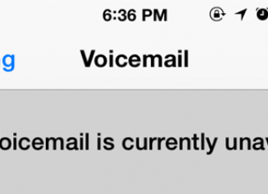 "How to Fix iPhone Error ""Visual Voicemail is currently unavailable"""