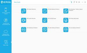 drfone ios screen recorder tools