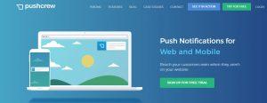 pushcrew push notification services