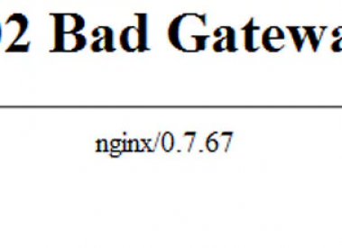 What is 502 Bad Gateway Errors and it's Solution