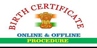 How to Apply for Birth Certificate OnlineOffline in India