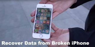 Software to Recover Data from Broken iPhone