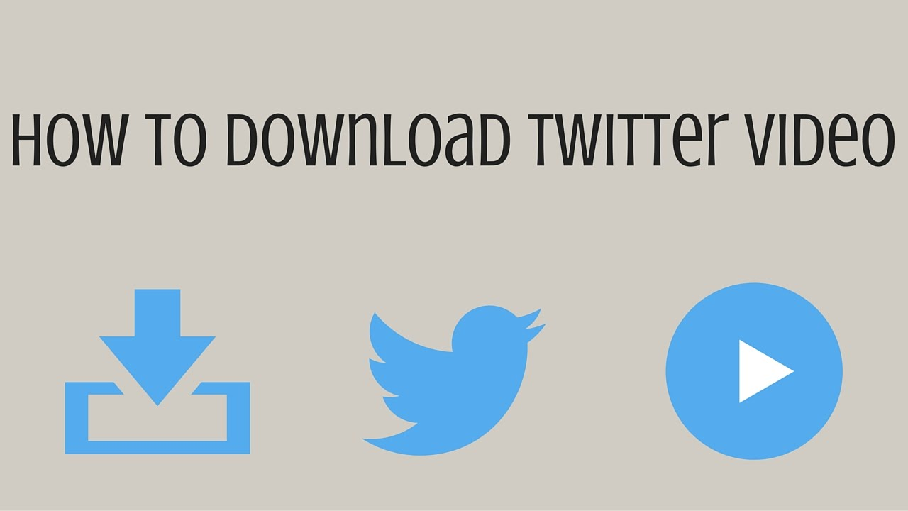 How to Download Twitter Videos on PC, Android, iPhone, MAC ...