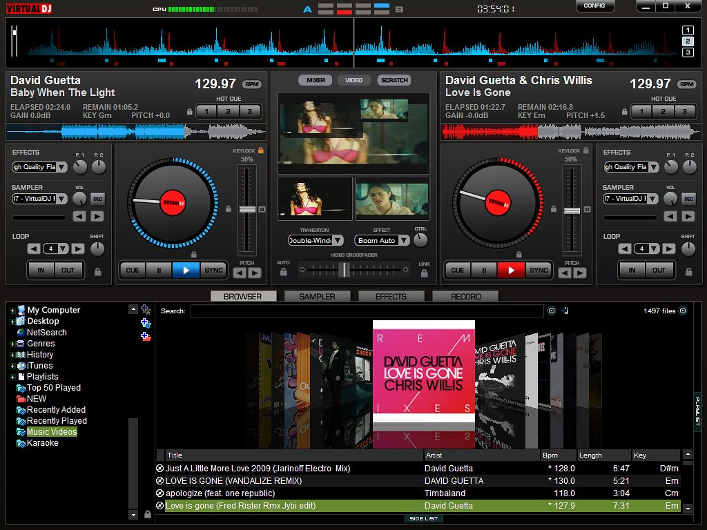 Atomix Virtual DJ Pro software