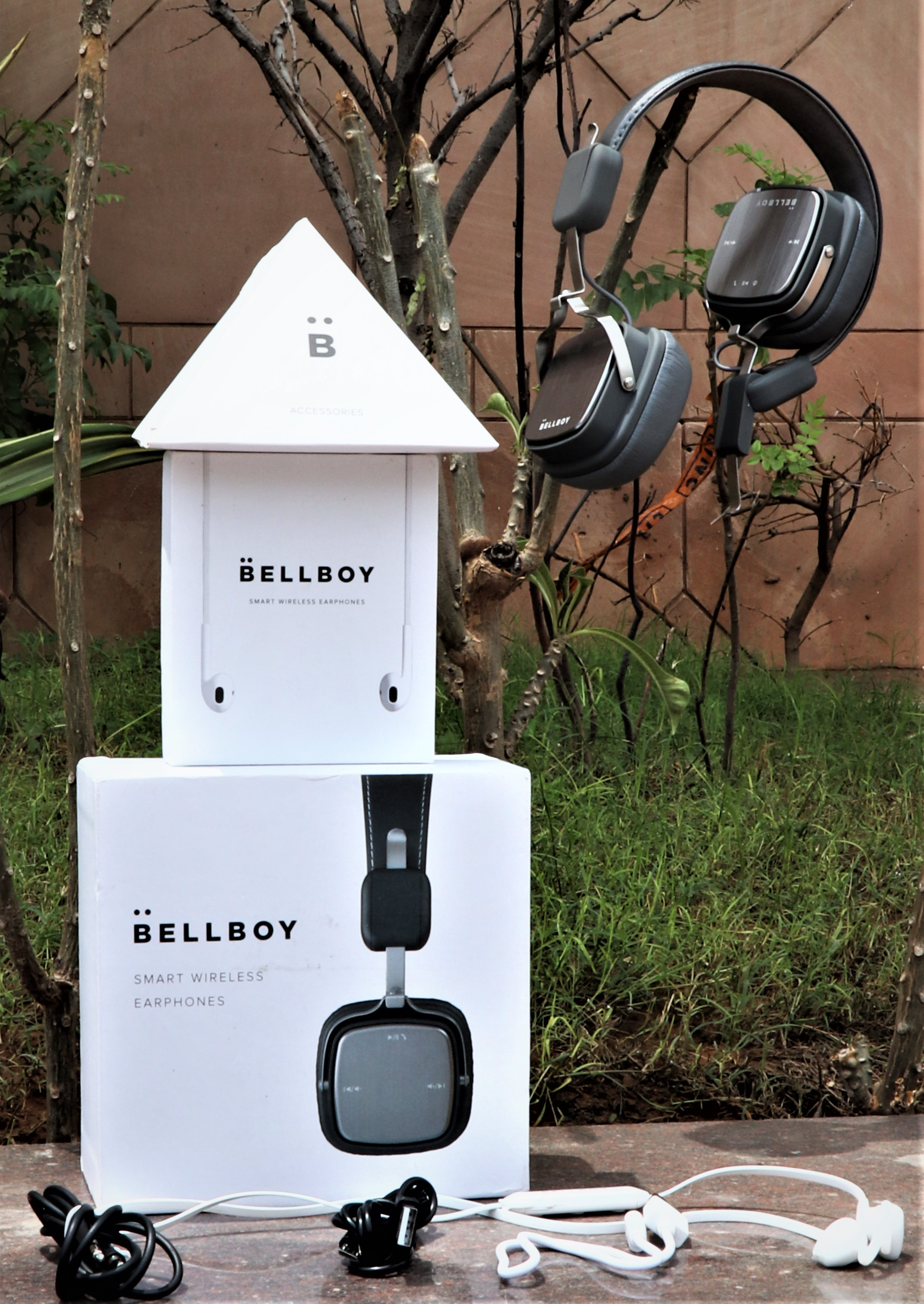 Bellboy Smart Wireless Headphones and Earphones