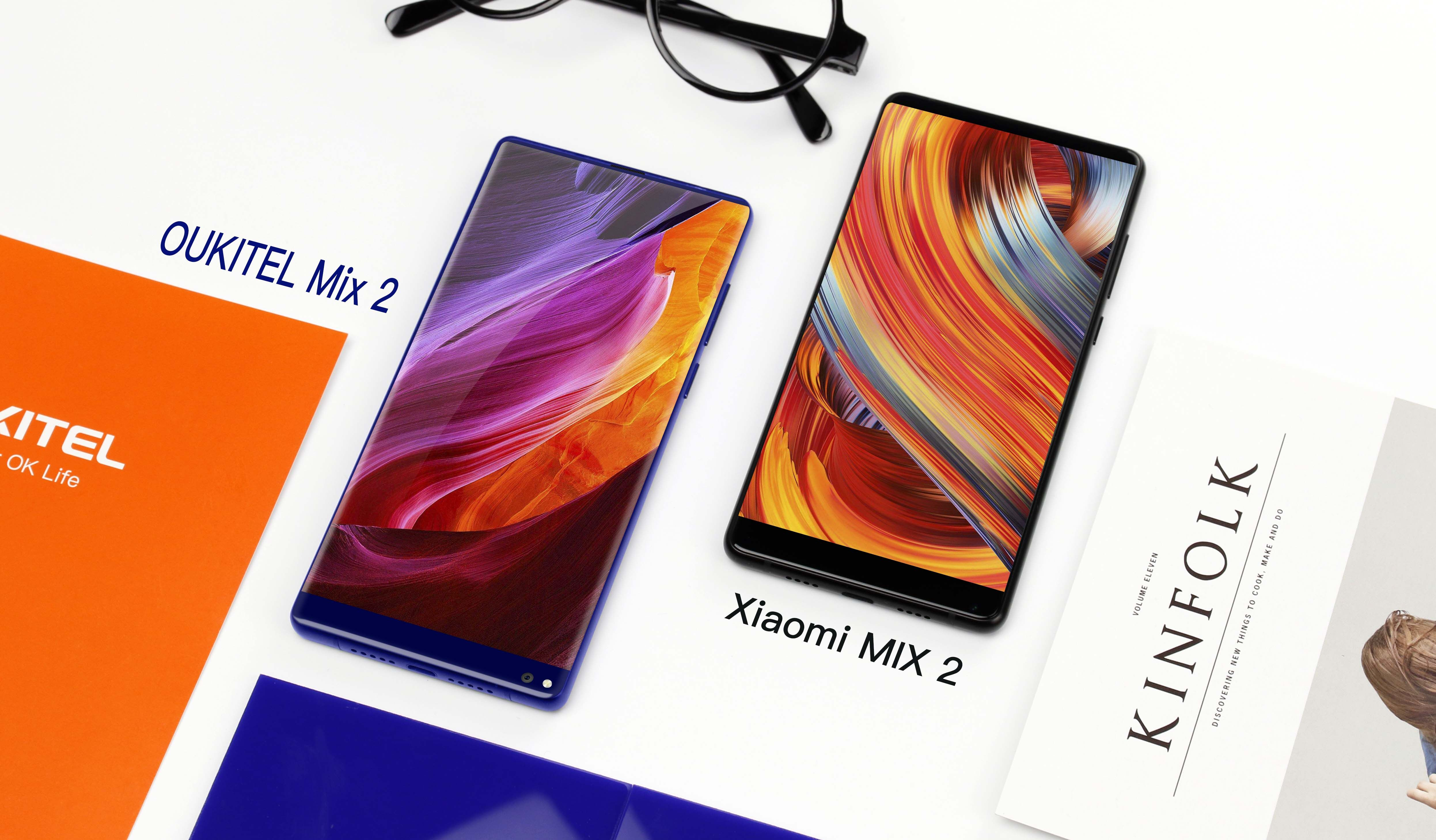 OUKITEL MIX 2: Review and Comparison with Xiaomi Mix 2