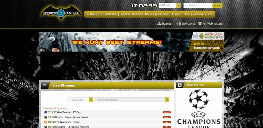 best tv stream site