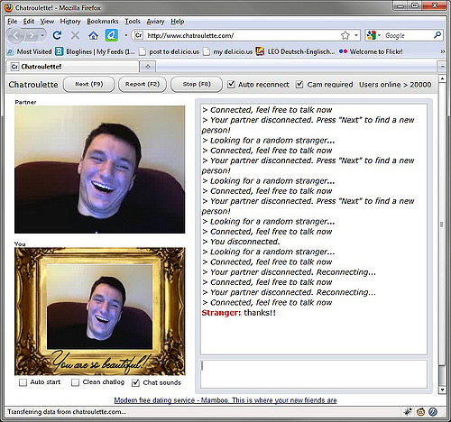 Dating site like chatroulette