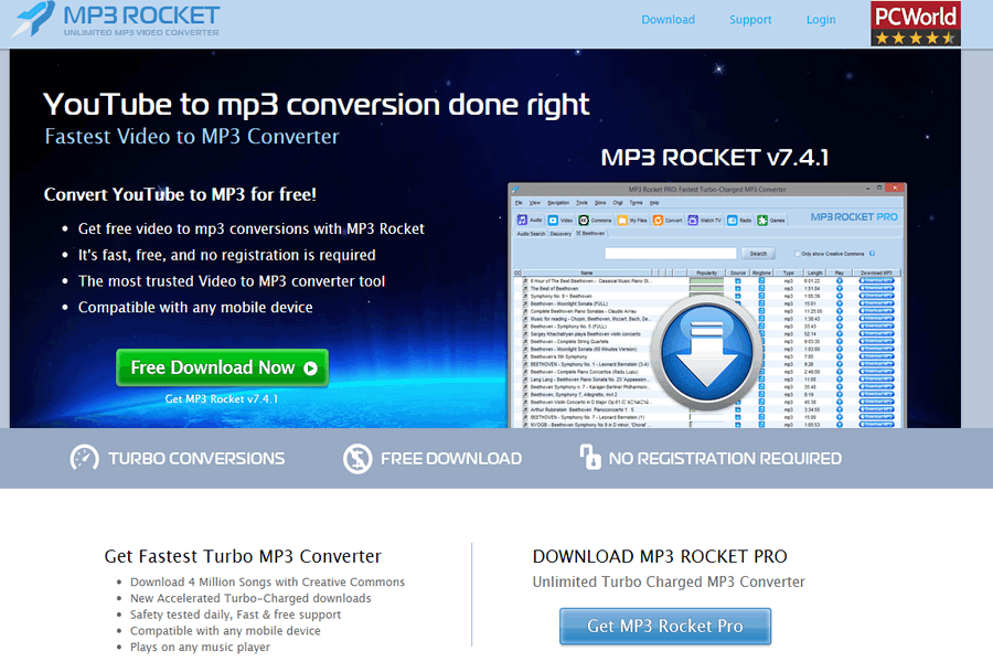 mp3 rocket pro free download for windows 10