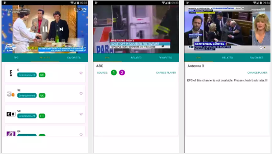 Tvtap app for android