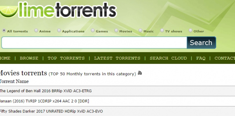 18 Alternative to Lime-torrents and Other Best Torrent Sites