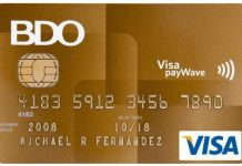 bdo card activation