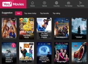 Yesmovies- watch free movies online