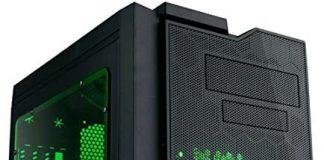 APEVIA X-QPACK3-GN Micro ATX Cube Gaming